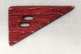 Rode driehoek knoop van Roos