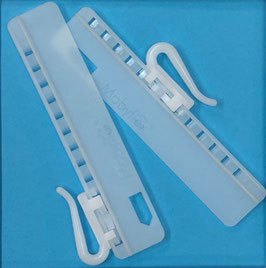 Antex verstelbaare haak voor instikplooi 7,5cm