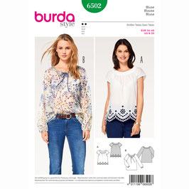 Burda patroon nr: 6502