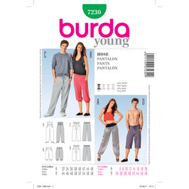 Burda patroon nr: 7230