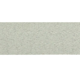 Keperband van polyester 20 mm grijs