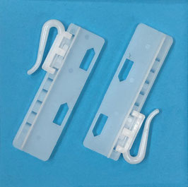 Antex verstelbaare haak voor instikplooi 5,5cm
