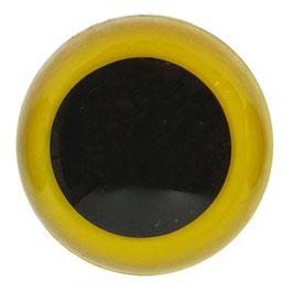 Veiligheidsogen 18 mm geel