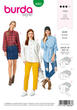 Burda patroon nr: 6263