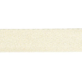 Keperband van polyester 20 mm off-white