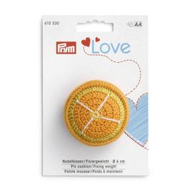 Prym sinasappel speldenkussen / fixeergewicht 6CM