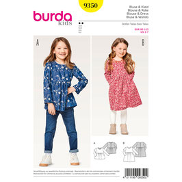 Burda patroon nr: 9350