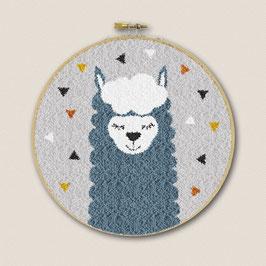 Restyle punchpakket alpaca blauw