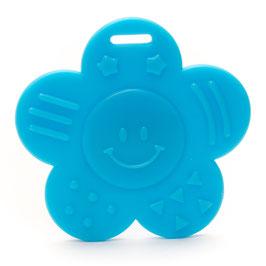 Blauwe dichte bloem bijtring van Durable.