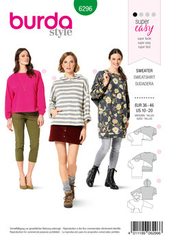 Burda patroon nr: 6296