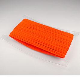 Capuchon koord 3,5 mm neon oranje