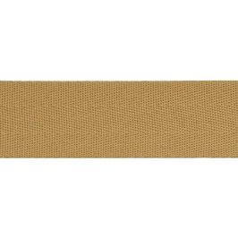 Keperband polyester 30 mm bruin