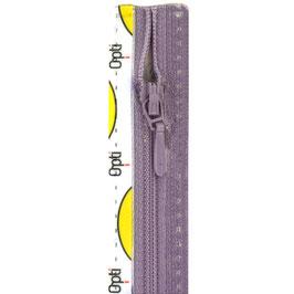 Lavendel kleur rits met druppel trekker niet deelbaar