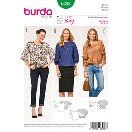 Burda patroon nr: 6458