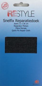 Jeans reparatie doek (zwart)