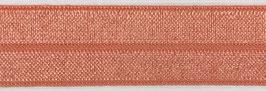 Biaisband elastisch zalm roze