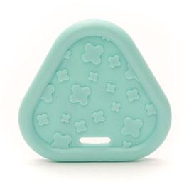 Baby blauwe driehoek bijtring van Durable.