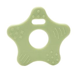 Mint groene ster bijtring van Durable.