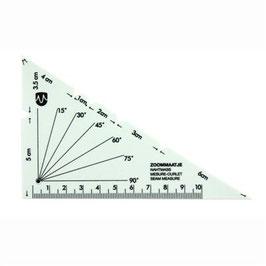 Zoommaatje driehoek No.1