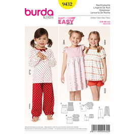 Burda patroon nr: 9432