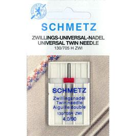 Schmetz tweelingnaald 130/705 H ZWI 4,0-90
