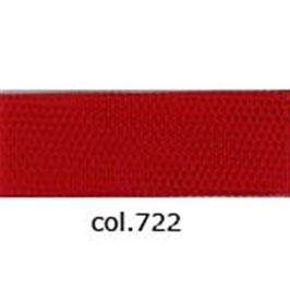 Tule rood 280 cm breed