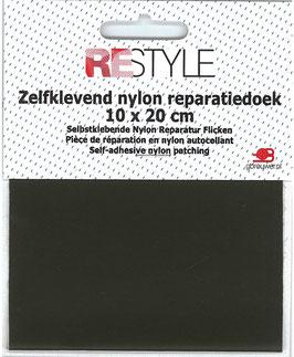 Zelfkevend nylon reparatiedoek donker groen