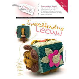 Cute Dutch patroonboekje van speelkubus Leeuw
