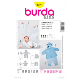 Burda patroon nr: 9478
