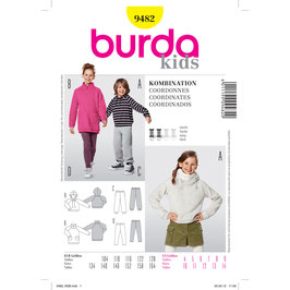 Burda patroon nr: 9482