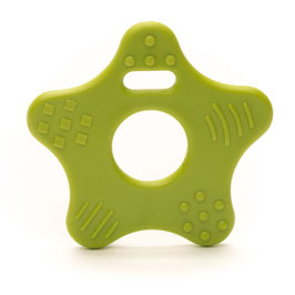 Groene ster bijtring van Durable.