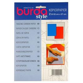 Burda kopieerpapier blauw / rood