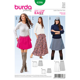 Burda patroon nr: 6586