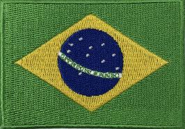 Vlag applicatie van Brazilië