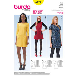 Burda patroon nr: 6721
