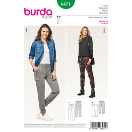 Burda patroon nr: 6471