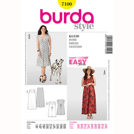 Burda patroon nr: 7100