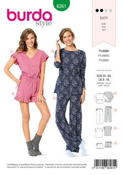 Burda patroon nr: 6261