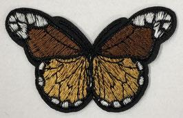 Grote vlinder applicatie bruin