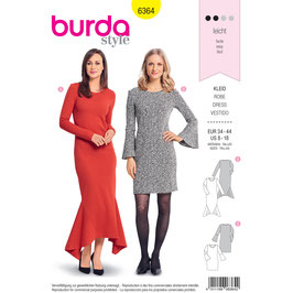 Burda patroon nr: 6364