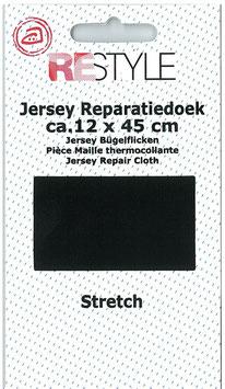 Zwart reparatiedoek stretch