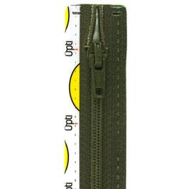 Leger groene rits met spiraal tand