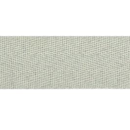 Keperband polyester 30 mm grijs