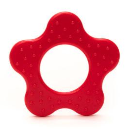 Rode ster met ribbel bijtring van Durable.