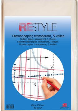 Transparant patroonpapier van Restyle