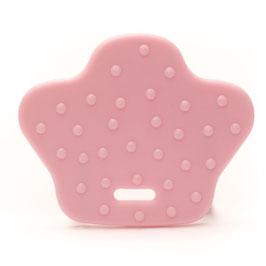 Roze dierenpoot bijtring van Durable.