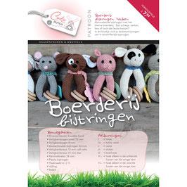Cute Dutch patroonboekje van  boerderij bijtringen