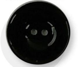 Basis knoop glans 000 zwart