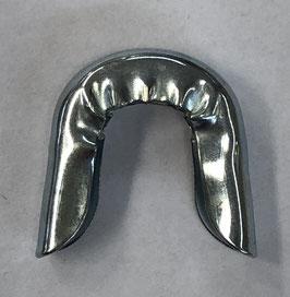 Metalen eindkapje voor baleinen 11 mm breed