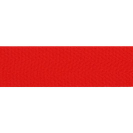 Keperband polyester 30 mm rood
